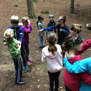 Year 5 Residential - Sensory Trail