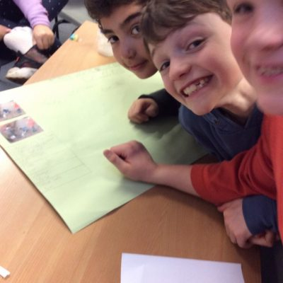 Creating our posters
